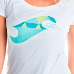Camiseta Babylook Upwind Downwind