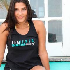Camiseta Regata Feminina Kitesurf Tem Vento