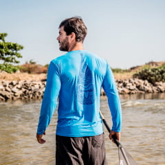 Camisa Dryfit UV50+ Masculina Tiki