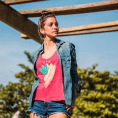 Camiseta Regata Feminina Sup Yoga