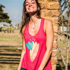 Camiseta Regata Feminina Sup Yoga